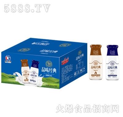 浩华乐源品味经典酸奶产品图