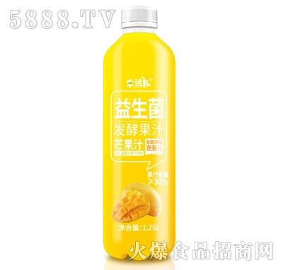 幸运儿益生菌发酵芒果汁1.25L