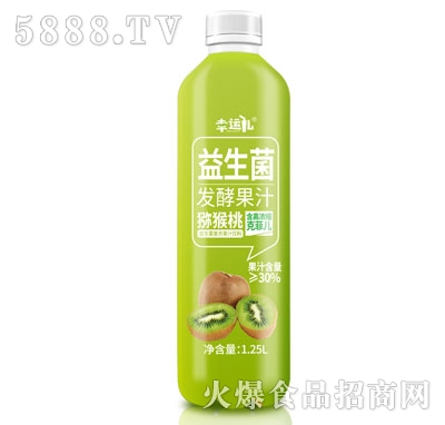 幸运儿益生菌发酵猕猴桃汁1.25L