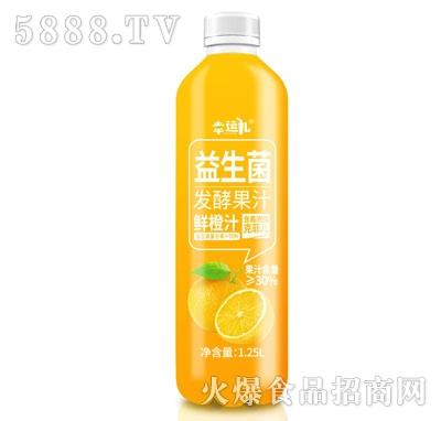 幸运儿益生菌发酵鲜橙汁1.25L