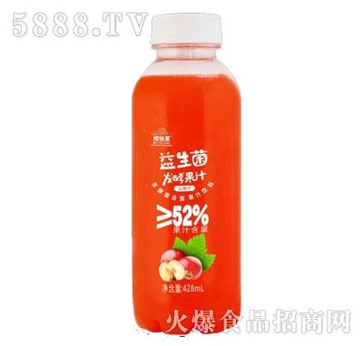 维他星益生菌发酵山楂汁428ml(瓶)