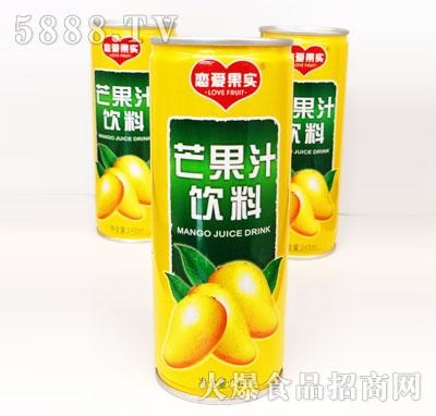 恋爱果实芒果汁饮料245ml