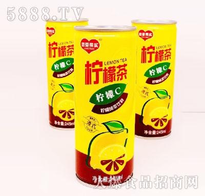 恋爱果实柠檬茶饮料245ml