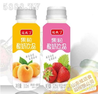迈疯了果粒酸奶饮品310ml