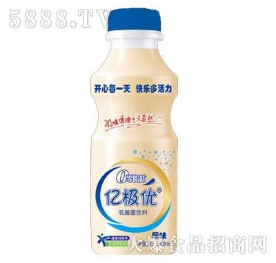 亿极优乳酸菌饮料原味340ml