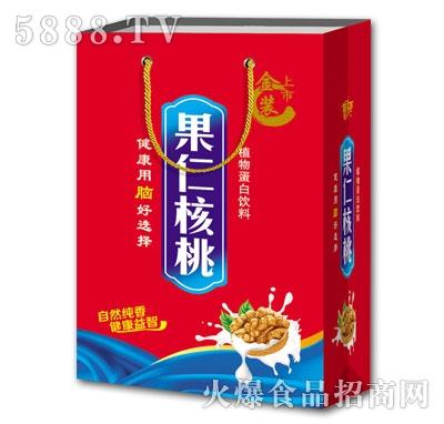 豪阳果仁核桃植物蛋白饮料(袋)