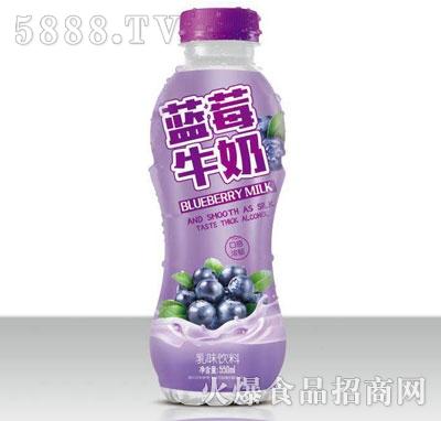 椰同学蓝莓牛奶乳味饮料