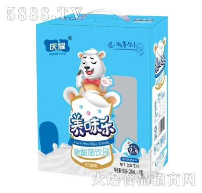 庆耀乳酸菌饮品200mlX16瓶