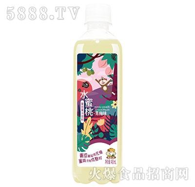 果园大叔水蜜桃复合果汁青梅味480ml