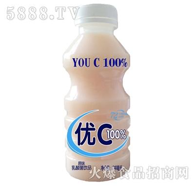 优C原味乳酸菌饮品340ml产品图