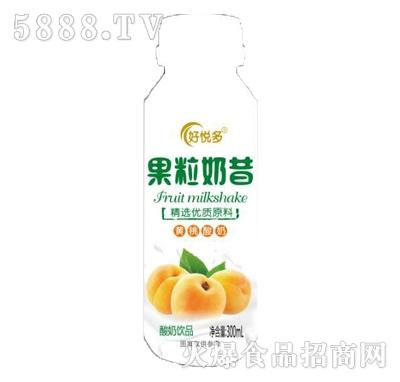 好悦多果粒奶昔黄桃味酸奶饮品300ml产品图