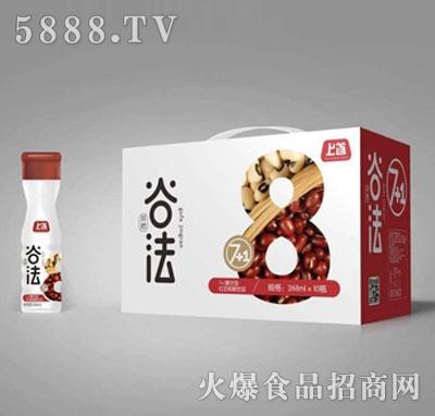 上首7+1复合型红豆粗粮饮料268mlX10