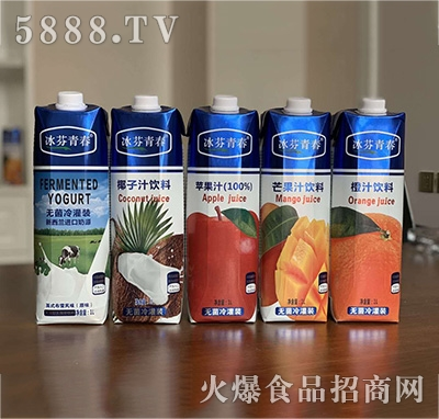 冰芬青春果汁饮品1L