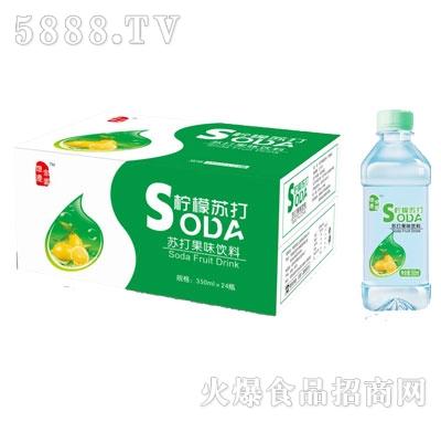 怀庆家园柠檬苏打350mlX24
