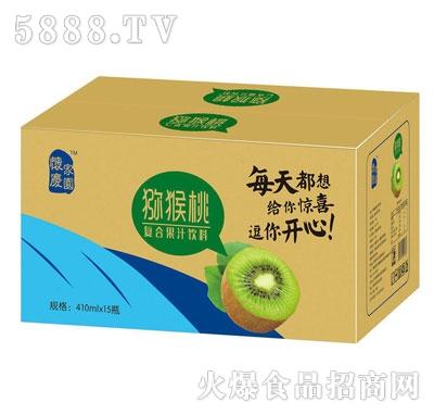 怀庆家园猕猴桃复合果汁饮料410mlX15瓶