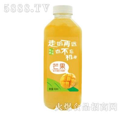怀庆家园芒果复合果汁饮料410ml