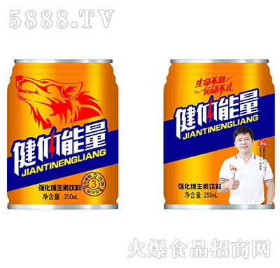 健体能量强化维生素饮料250ml