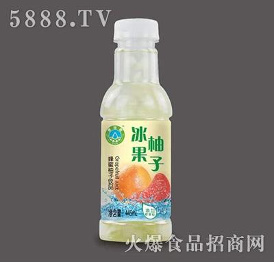 冰果蜂蜜柚子饮品445ml