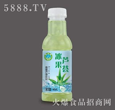 冰果蜂蜜芦荟饮品445ml