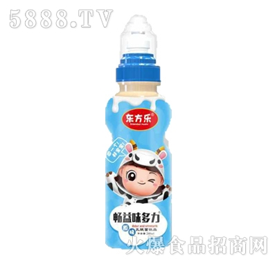 东方乐畅益味多力原味乳酸菌饮品200ml产品图