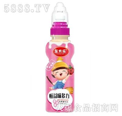 东方乐畅益味多力草莓味乳酸菌饮品200ml产品图