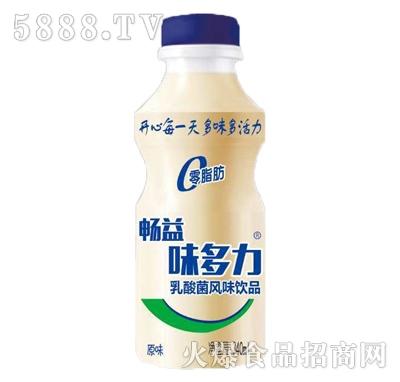 畅益味多力原味乳酸菌饮品340ml产品图