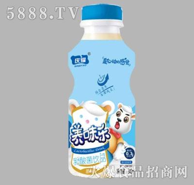 养味乐乳酸菌饮品原味340ml