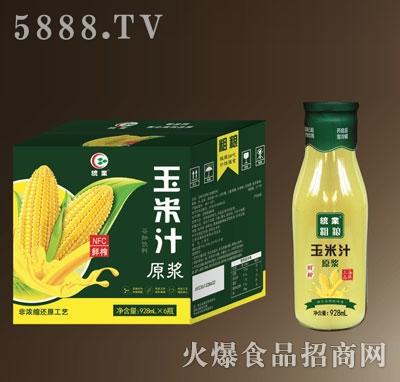 统业粗粮玉米汁928mlX6产品图