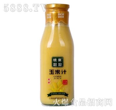 统业粗粮玉米汁产品图