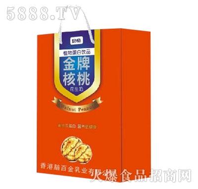 奶畅金牌核桃花生奶礼盒产品图