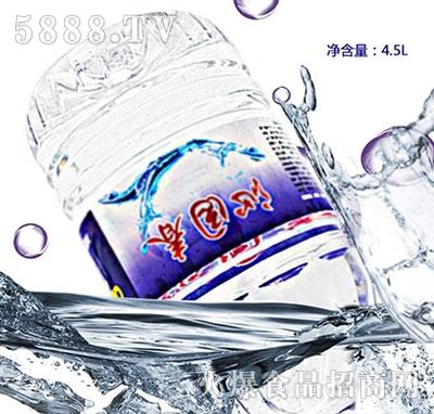 沁园春矿泉水4.5L产品图