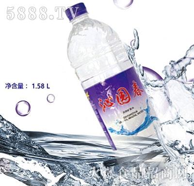 沁园春矿泉水1.58L产品图