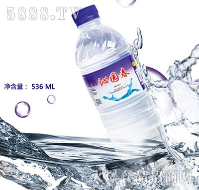 沁园春矿泉水536ml产品图