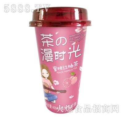 佳因美400ml蜜桃红柚茶(红色版)