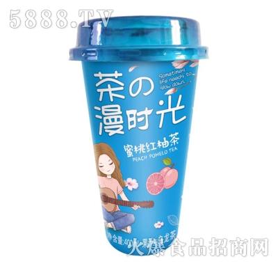 佳因美400ml蜜桃红柚茶(蓝色版)产品图