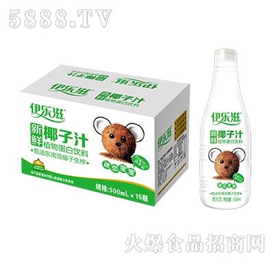 伊乐滋椰子汁500mlx15瓶