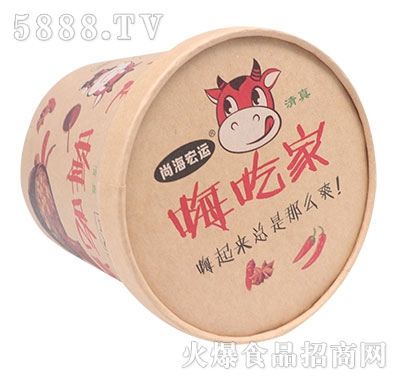 尚海宏运嗨吃家酸辣粉产品图