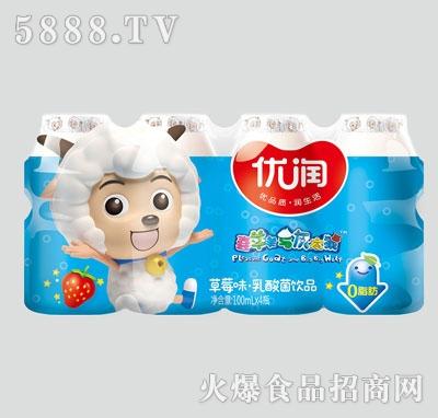 优润原味乳酸菌饮品100mlX4
