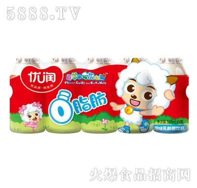优润草莓味乳酸菌饮品100mlX5