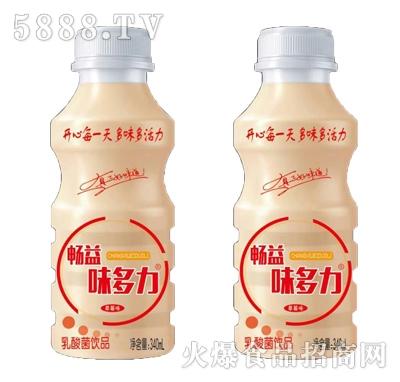 畅益味多力乳酸菌饮品340ml产品图