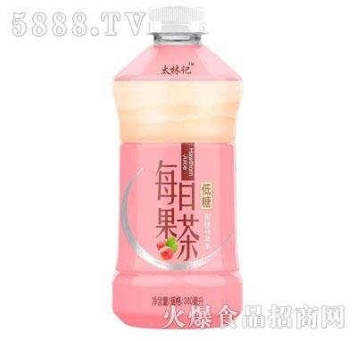 太林记每日果茶蜜桃乌龙茶380ml