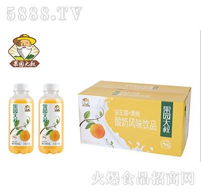 果园大叔黄桃酸奶480mlx15瓶