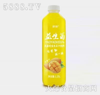 醉奥复合芒果果汁饮料1.25L