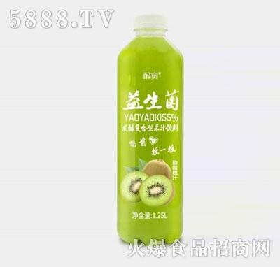 醉奥复合猕猴桃果汁饮料1.25L
