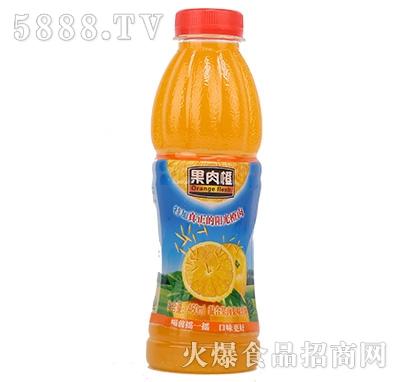 果肉橙混合果肉果味饮料460ml