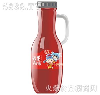 真心因果结缘山楂汁饮料1.5L