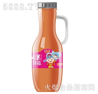真心因果结缘苹果汁饮料1.5L