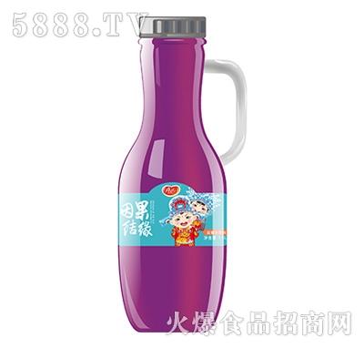 真心因果结缘蓝莓汁饮料1.5L