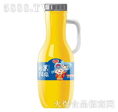 真心因果结缘黄桃汁饮料1.5L