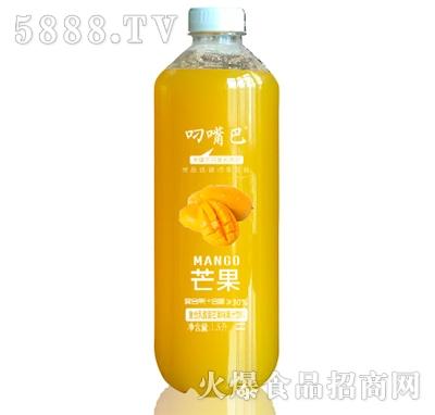 叼嘴巴复合乳酸菌芒果汁饮料1.5L